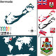 Map of Bermuda - GraphicRiver Item for Sale