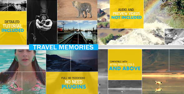 VideoHive Travel Memories 10272679