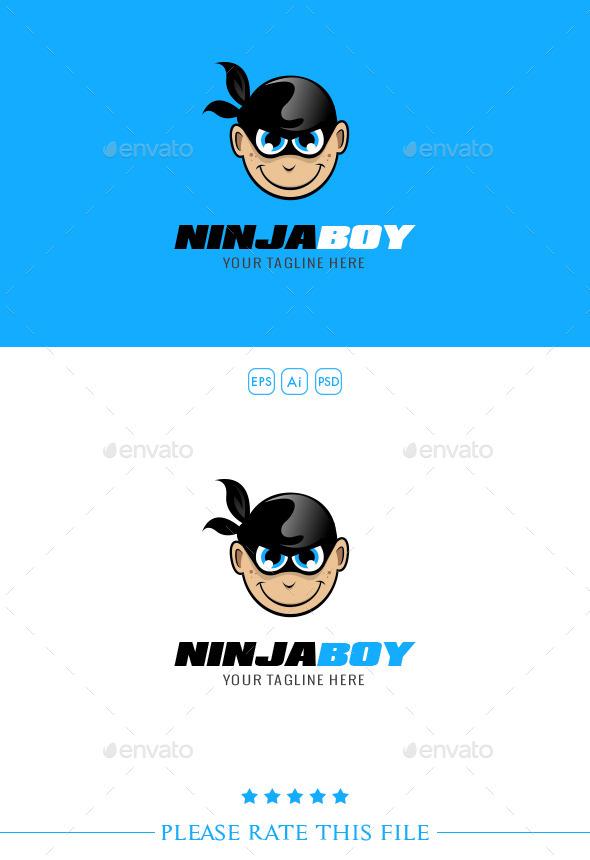 GraphicRiver Ninja Logo 10272751