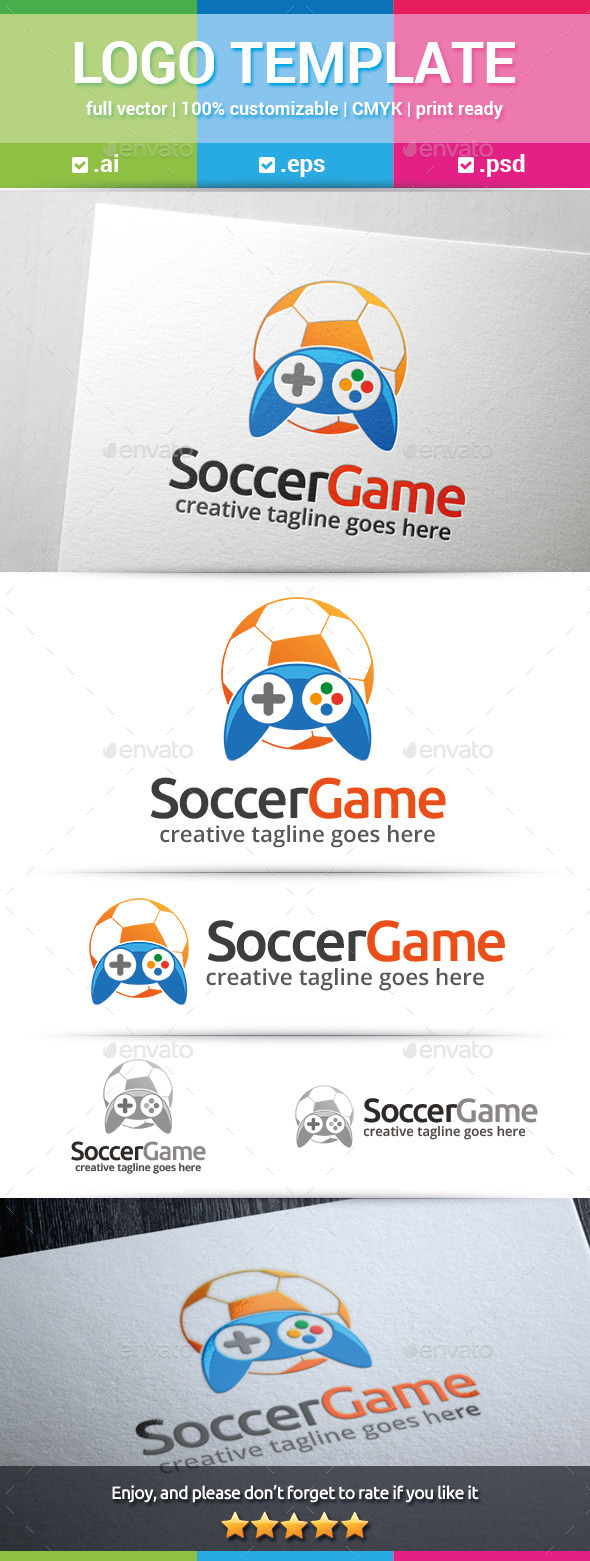 GraphicRiver Soccer Game Logo 10272989