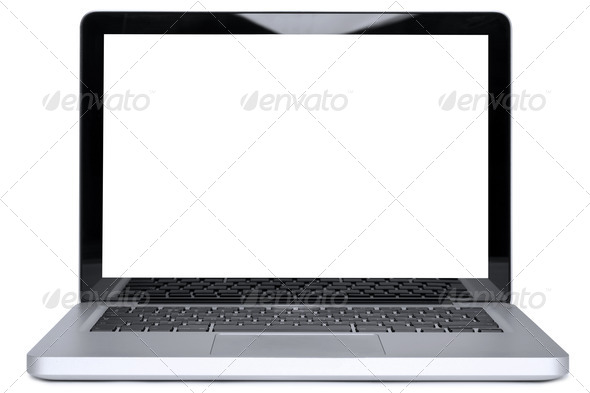 PhotoDune MacBook Pro isolated with clipping path 1035000