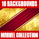 Collection Marvel Backgrounds - GraphicRiver Item for Sale