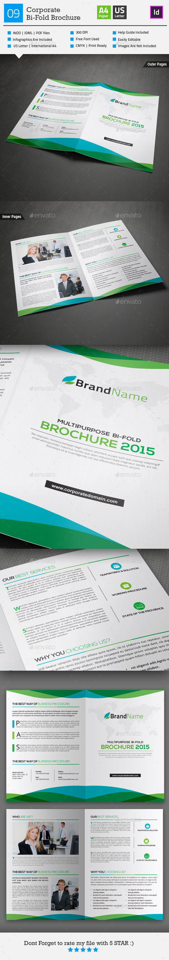 GraphicRiver Multipurpose Bi-fold Brochure 09 10273293