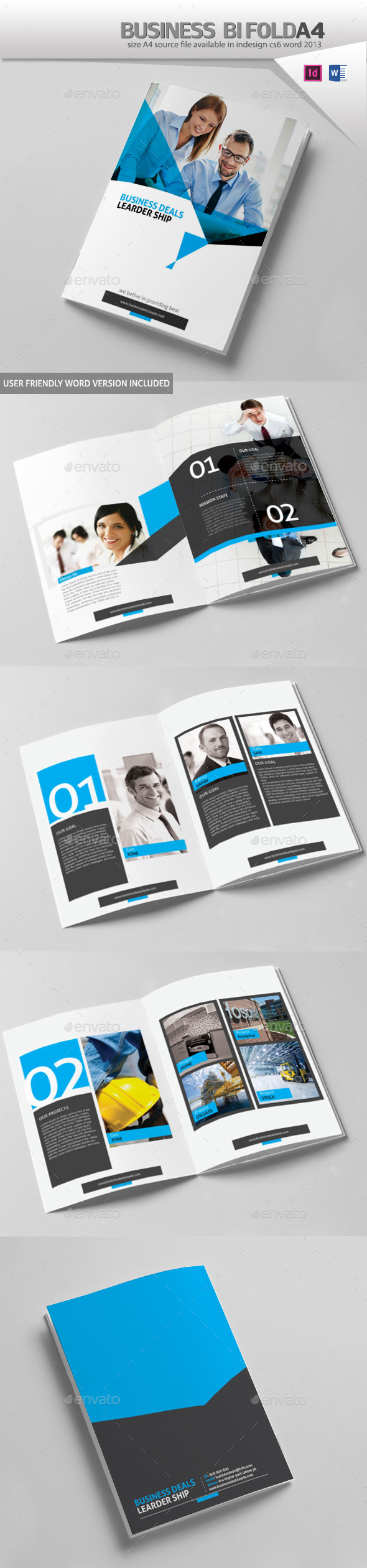 GraphicRiver Business Brochure Design A4 10240946