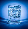 Glass of water with ice - PhotoDune Item for Sale