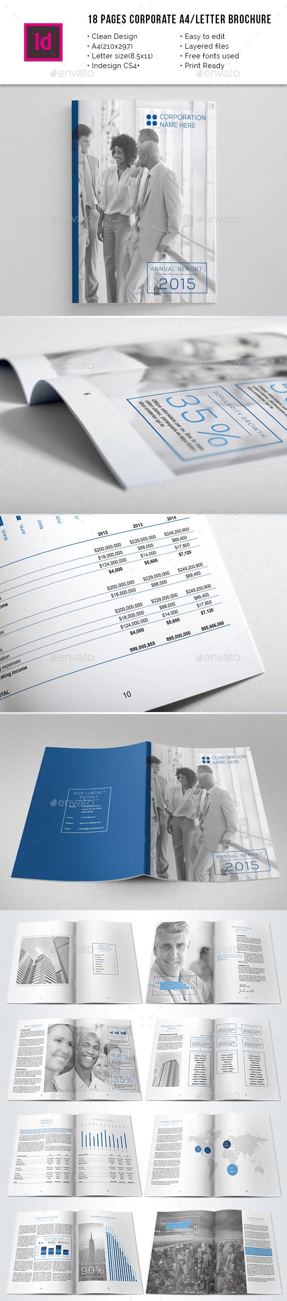 GraphicRiver Corporate A4 Letter Annual Report 10274063