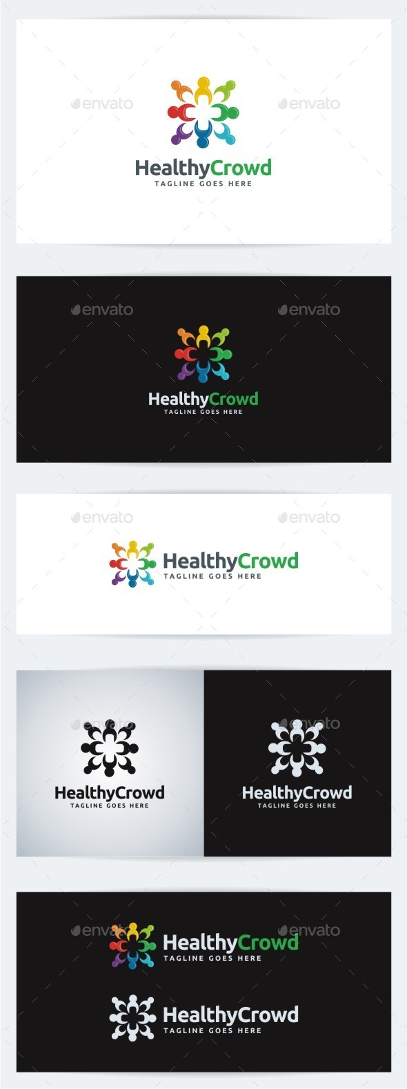 GraphicRiver Healthy Crowd 10274847