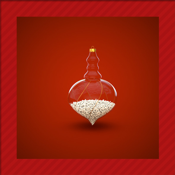 HiRes Christmas Decoration 15 - 3DOcean Item for Sale