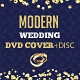 Modern Wedding DVD Cover & Disc Template - GraphicRiver Item for Sale