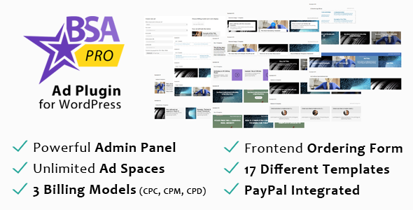 CodeCanyon BuySellAds PRO Multi-Purpose Ad WordPress Plugin 10275010