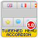 Tweened Accordion Menu - XML driven - Full Custom - ActiveDen Item for Sale