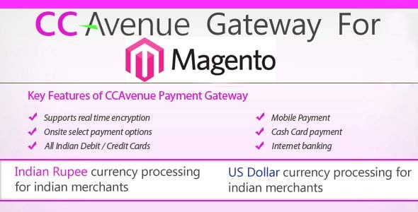 CodeCanyon CCAvenue For Magento 10165135