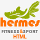 Hermes - Fitness One-page HTML Template