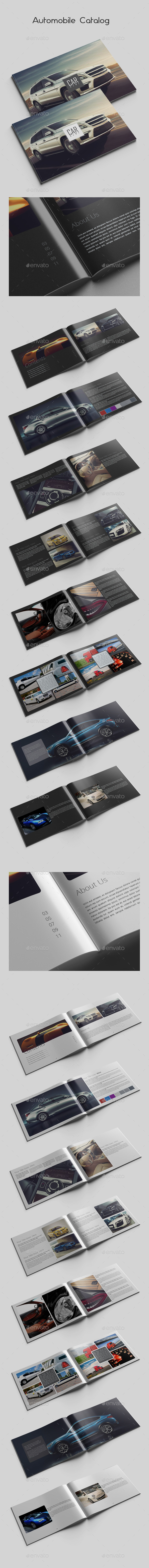 GraphicRiver Automobile Catalog 10275471