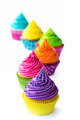 Row of colorful cupcakes - PhotoDune Item for Sale
