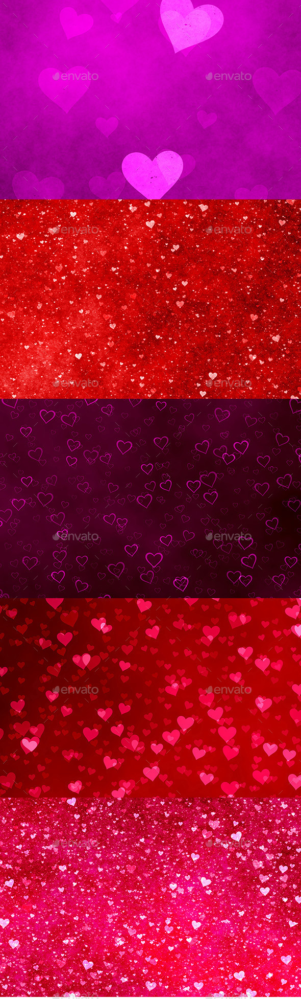 GraphicRiver Valentine Backgrounds 10276762