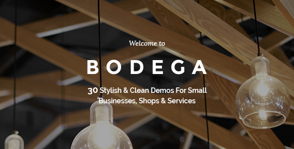 ThemeForest Bodega A Stylish Theme For Small Businesses 10276763