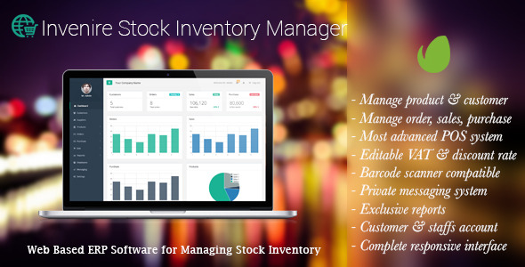 CodeCanyon Invenire Stock Inventory Manager 10277095