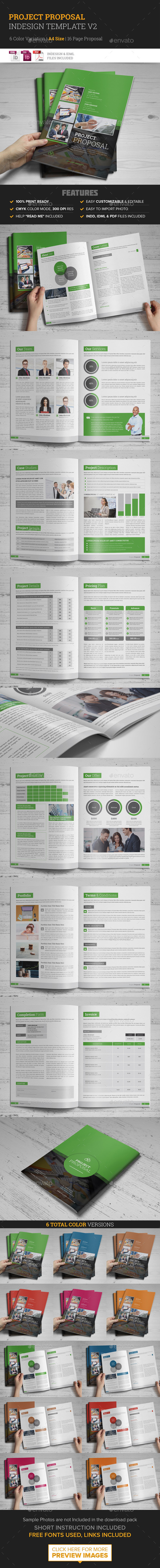 GraphicRiver Project Proposal InDesign Template v2 10277170