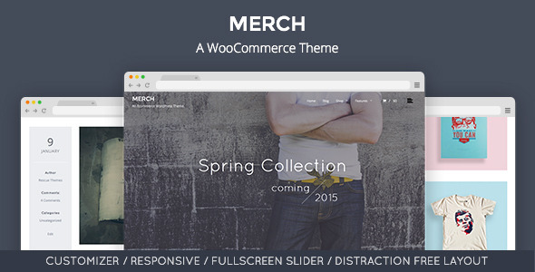 ThemeForest Merch A WooCommerce WordPress Theme 10277209