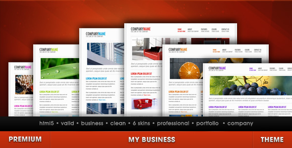 My Business - Company theme