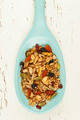 Homemade granola in spoon - PhotoDune Item for Sale