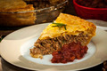 Slice of meat pie Tourtiere - PhotoDune Item for Sale