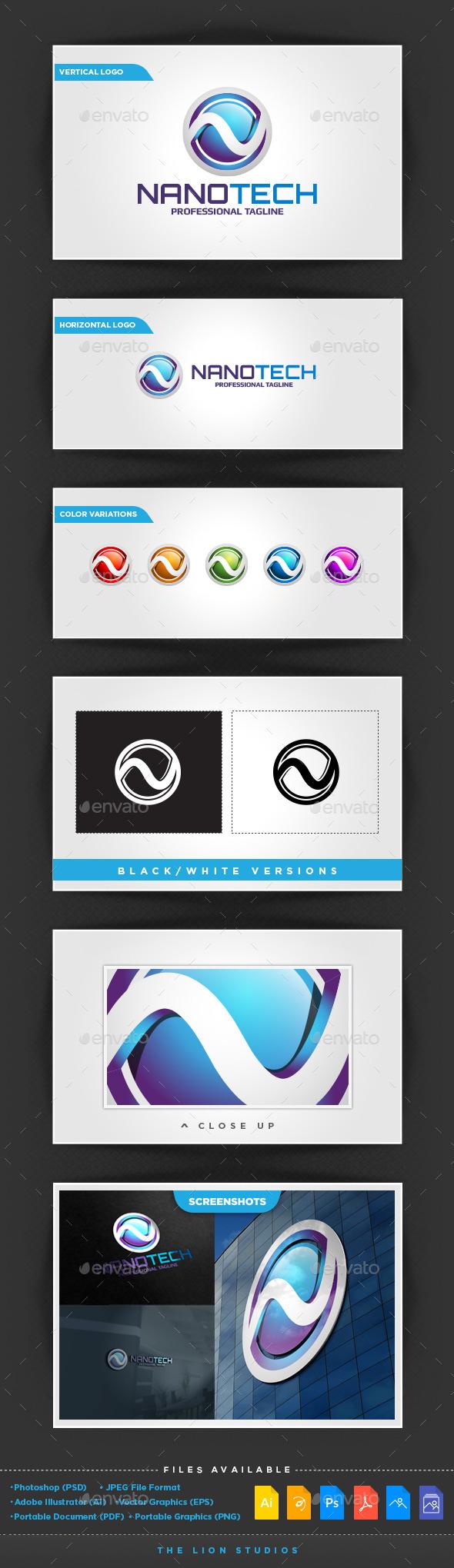 GraphicRiver NanoTech Logo 10277930