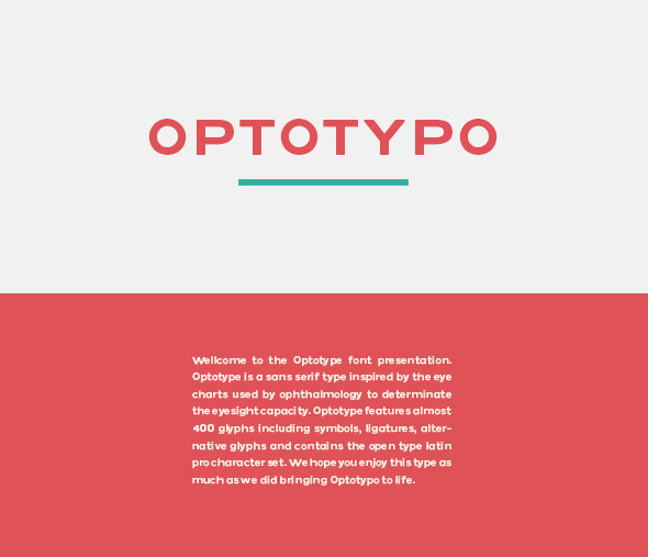 GraphicRiver OPTOTYPO 10278447