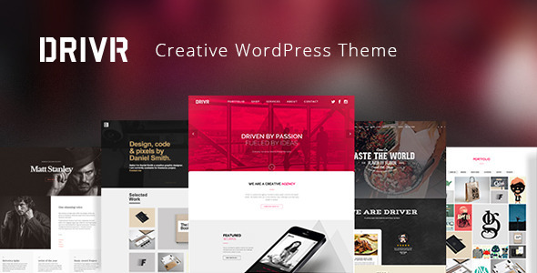 Driver - Responsive Multi Purpose Wordpress Theme