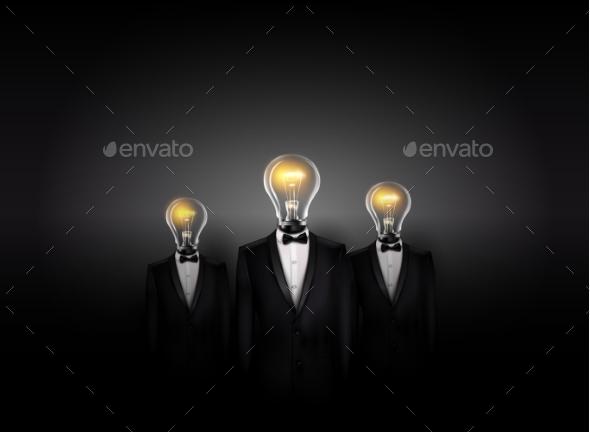 GraphicRiver Conceptual Business Background 10278468