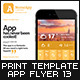 Mobile App Flyers Template 13 - GraphicRiver Item for Sale