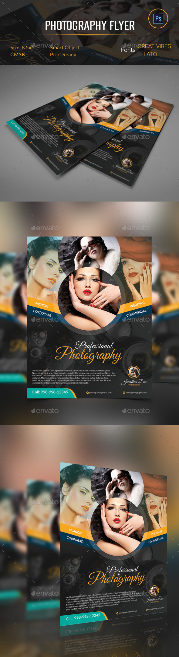 GraphicRiver Photography Flyer 10279754
