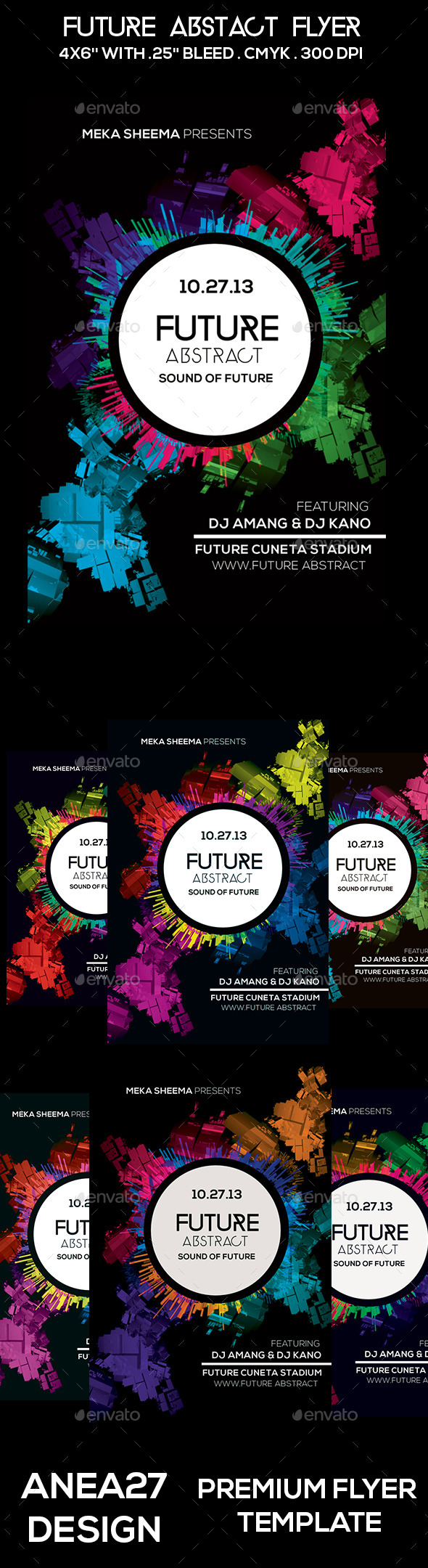 GraphicRiver Future Abstract Flyer 10248967