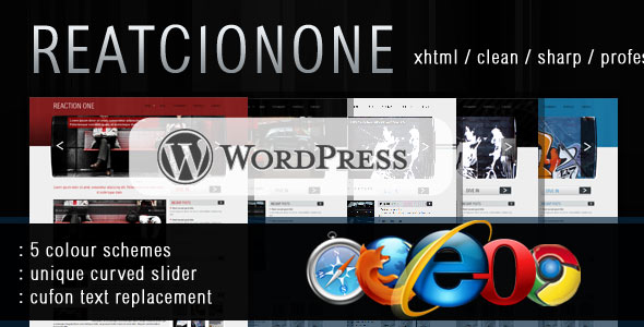 ReactionOne Wordpress