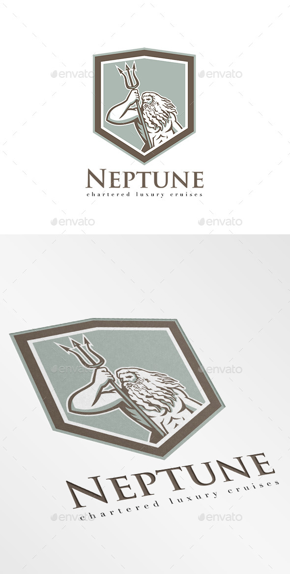 GraphicRiver Neptune Luxury Cruises Logo 10280253