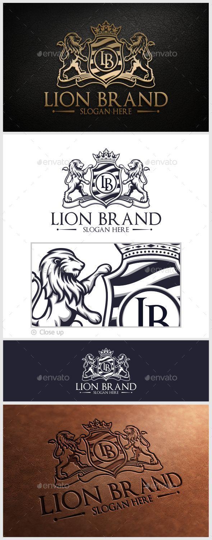 GraphicRiver Lion Brand Logo Template 10280688