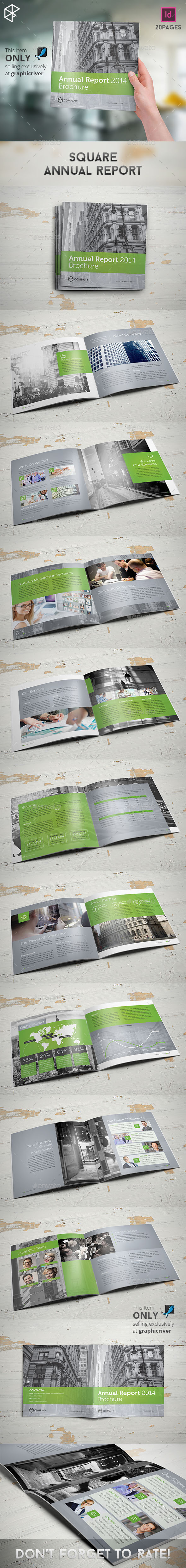 GraphicRiver Square Annual Report 10280698
