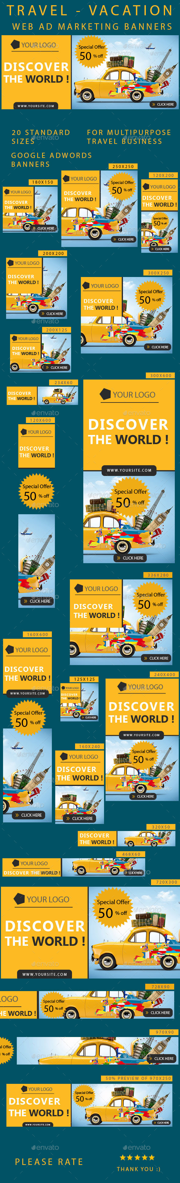 GraphicRiver Travel Banners 10280787