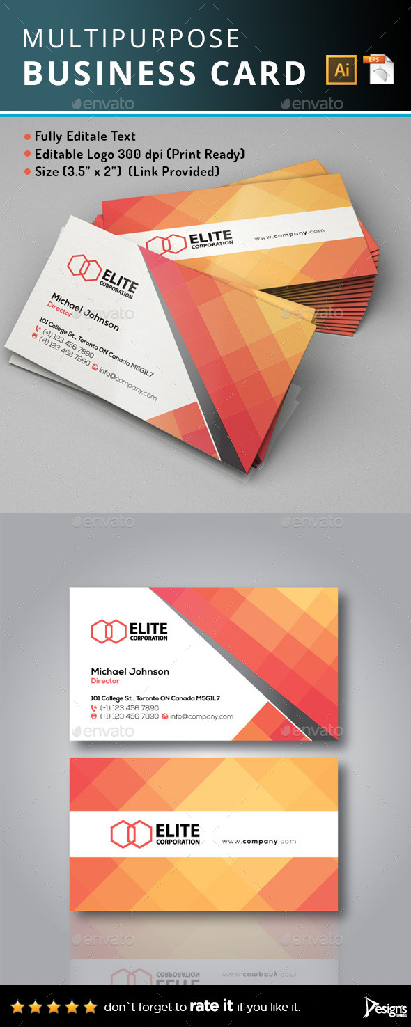 GraphicRiver Business Card 10281059