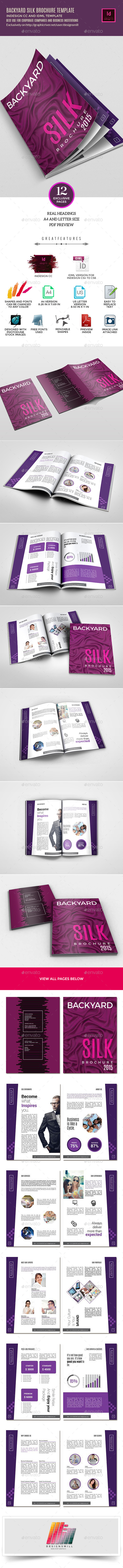 GraphicRiver Backyard Silk Brochure Template 10281228
