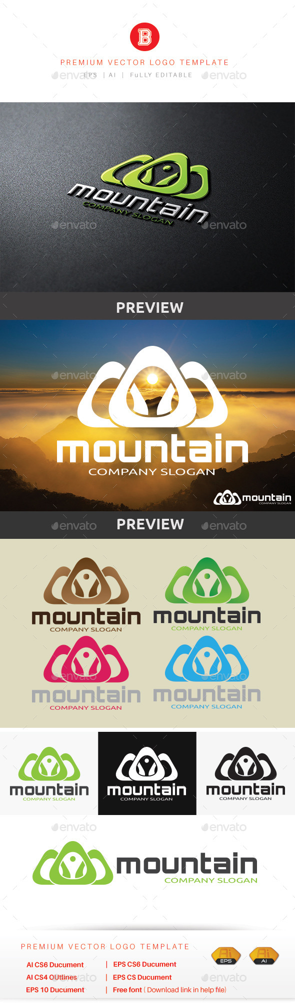 GraphicRiver Mountain V.6 10281567