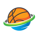 Basketball Planet Logo - GraphicRiver Item for Sale