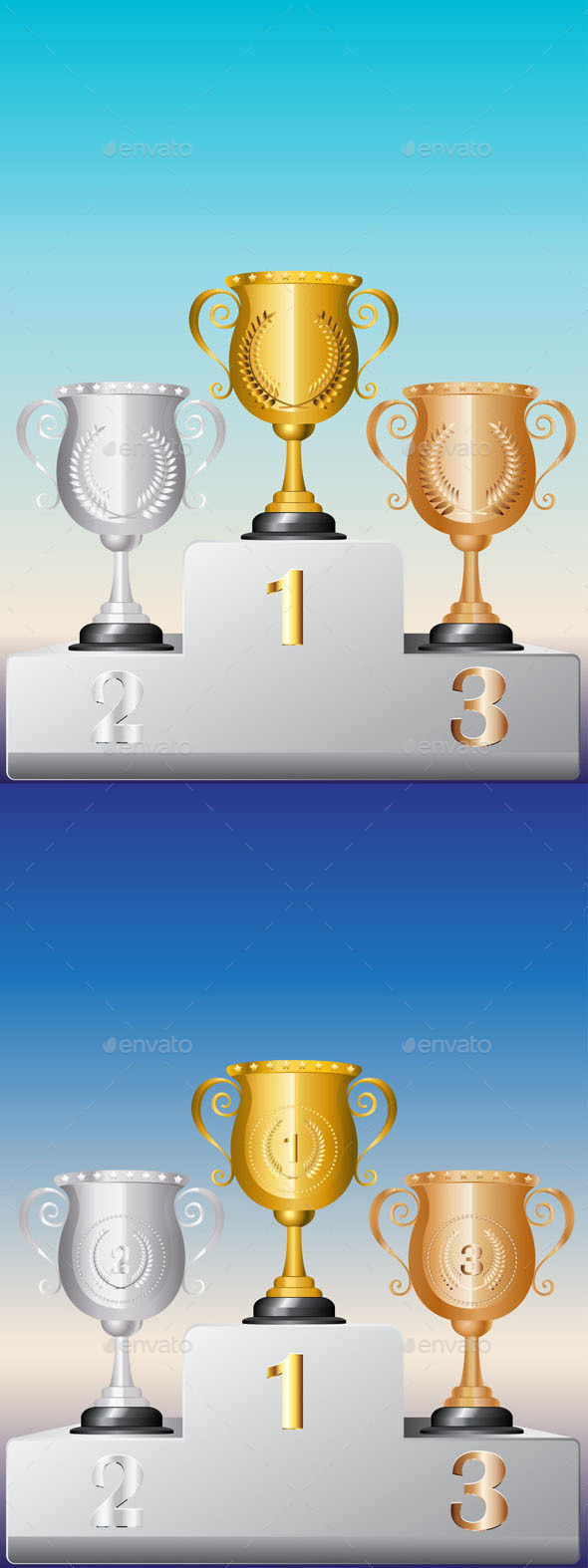 GraphicRiver Trophy Cup on Podium 10281735