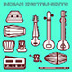 Indian instruments - GraphicRiver Item for Sale