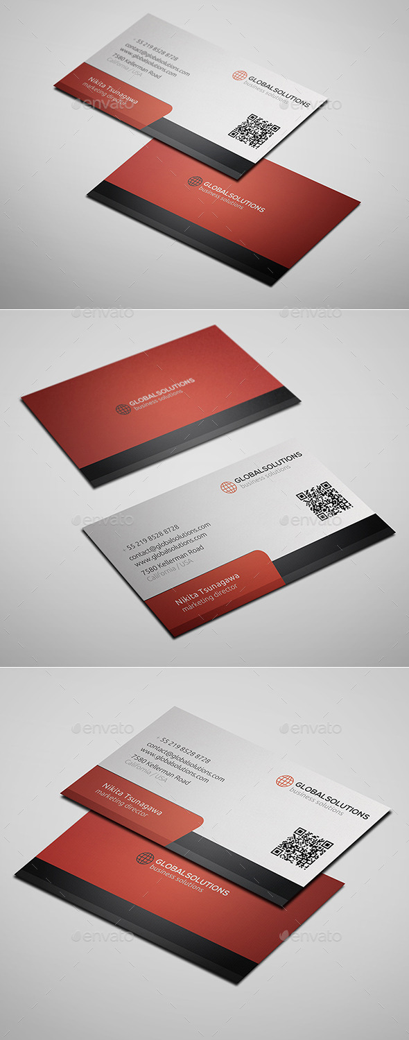 GraphicRiver Corporate Business Card 7 10282654