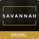 Savannah - Drupal Responsive vCard Portfolio - ThemeForest Item for Sale