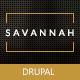Savannah - Drupal Responsive vCard Portfolio