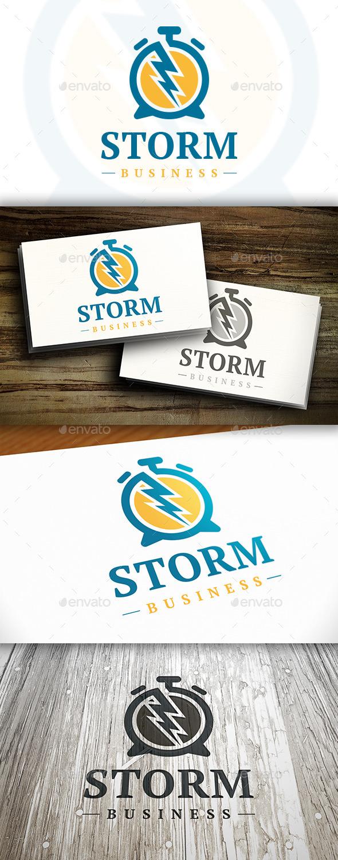 GraphicRiver Creative Time Logo 10282767
