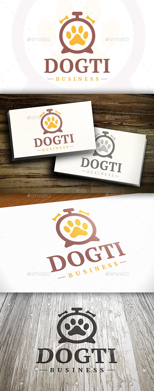 GraphicRiver Pet Time Logo 10282775